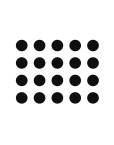 Polka Dot Wall decal by Hello Dolly