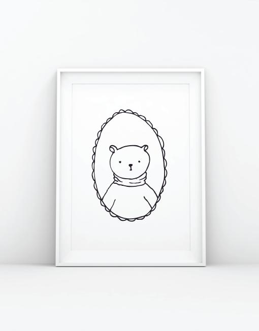 bear_a4-prints
