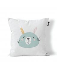 Fluffy Bunny Scatter Cushion