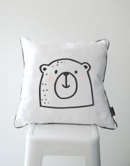 Mr Bear Scatter Cushion