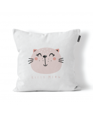 Kitty Meow Scatter Cushion