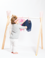 Baby Clothing Rail