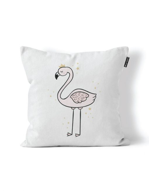 Flamingo Princess Scatter Cushion