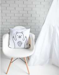 Happy Bear Scatter Cushion