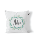 Personalised Wreath Scatter Cushion