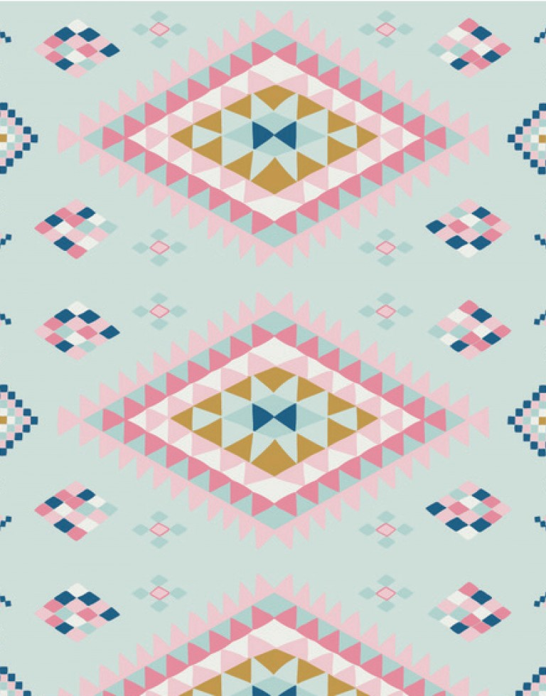 Moroccan Rug/ Polka Dot Play Mat