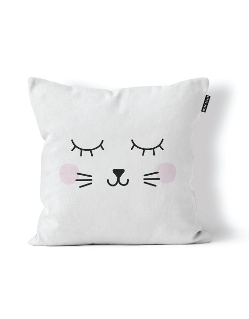 Sleepy Kitty Scatter Cushion