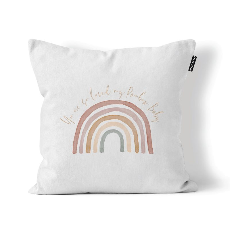 you are loved scatter cushion