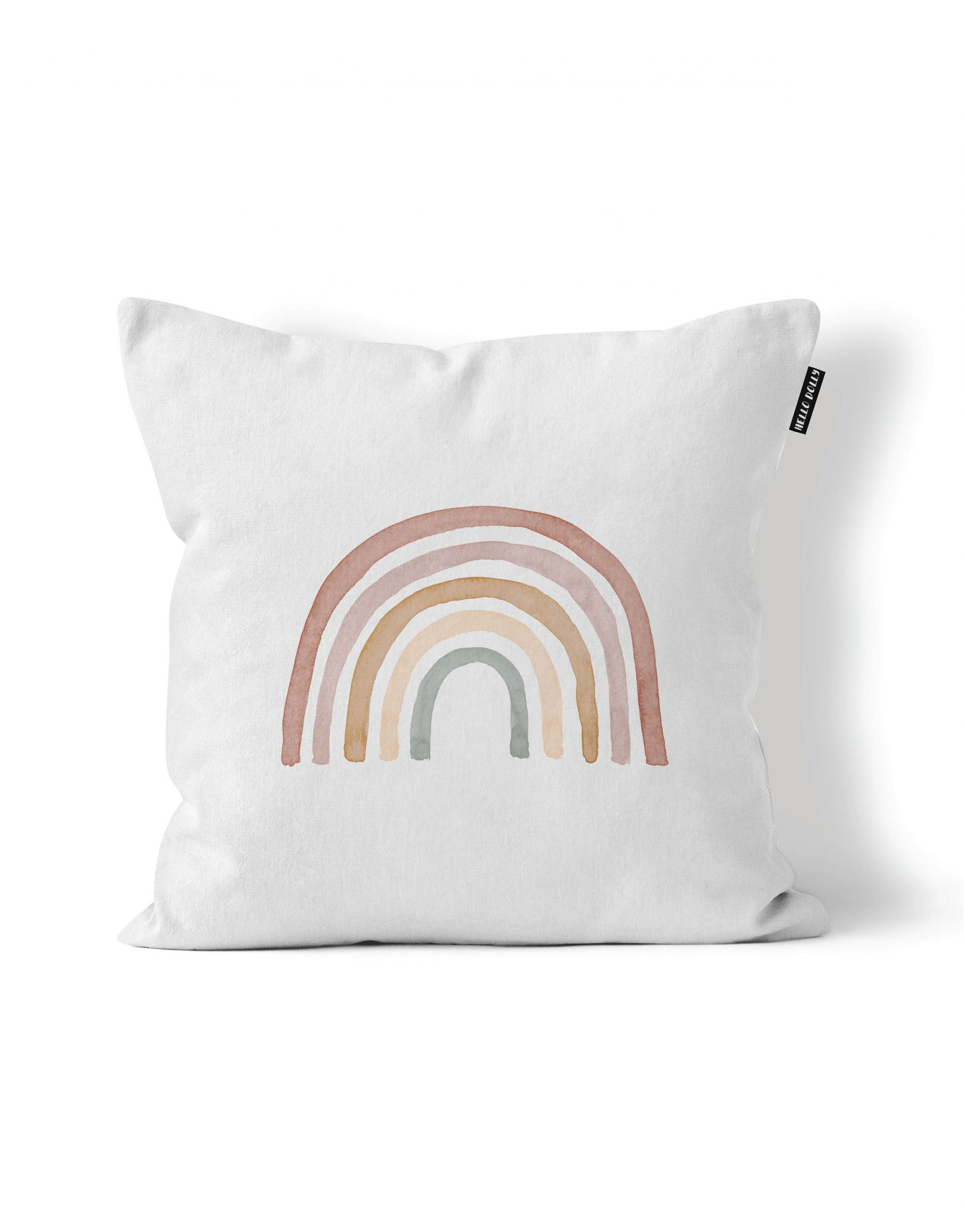 rainbow scatter cushion