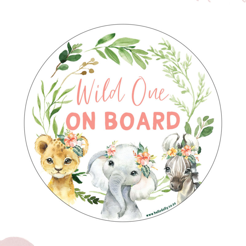 Girl Wild One on Board