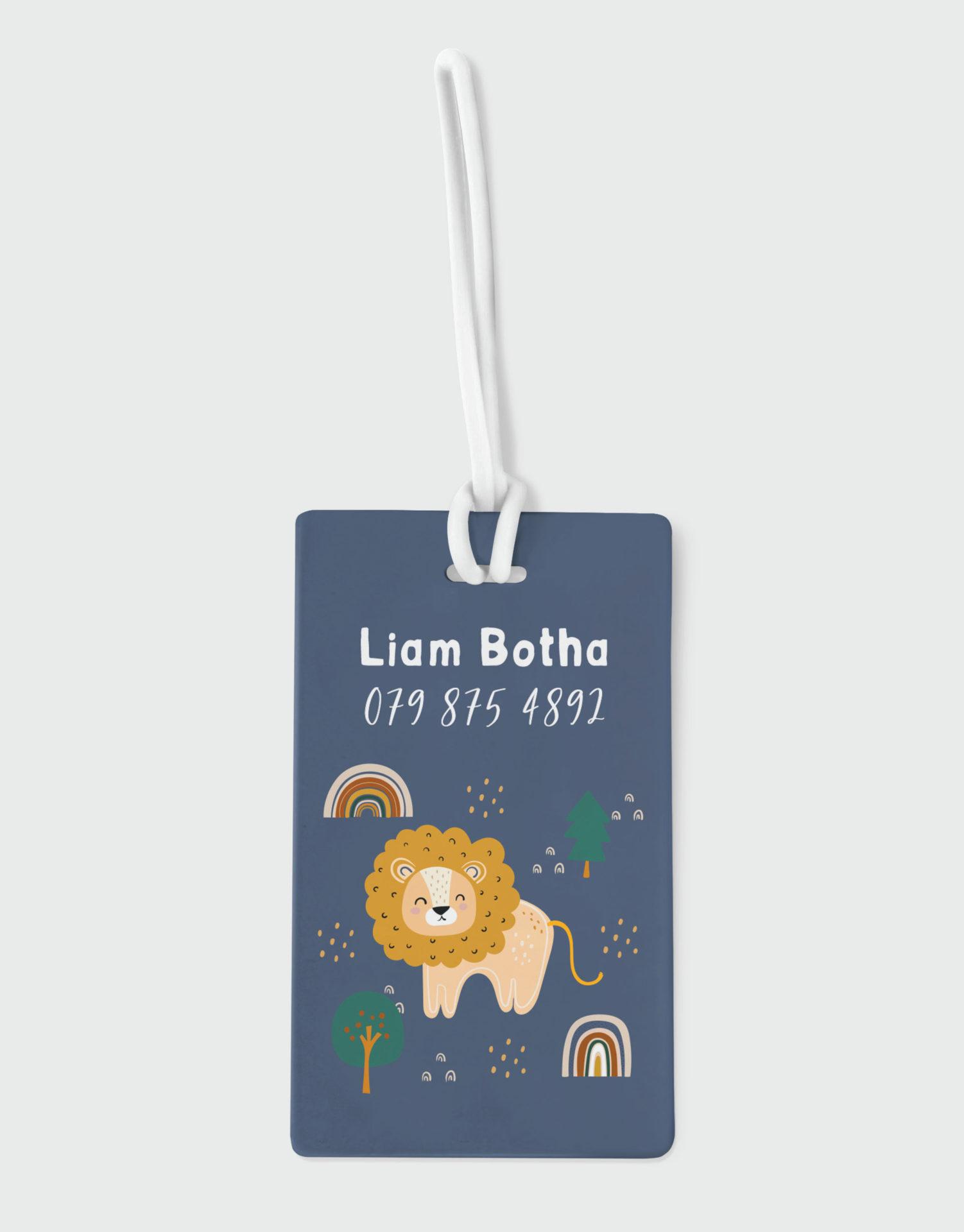 Roarsome Lion Bag Tag
