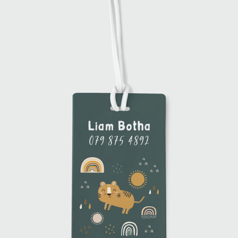 Tiger Roar Bag Tag